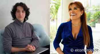 Vasco Madueño agradeció a Magaly Medina por obsequiarle la laptop que necesitaba para estudiar y trabajar   VIDEO - El Comercio Perú