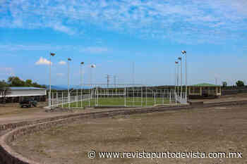 SEDUVOP rehabilita el Parque el Meteorito en Charcas - Revista Punto de Vista - RPDV