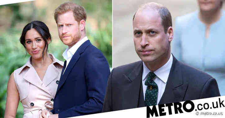 Prince William 'threw Harry out' after Meghan bullying claims surfaced