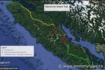 Now 90% complete, Vancouver Island trail forges new funding parnership – Tofino-Ucluelet Westerly News - Tofino-Ucluelet Westerly News