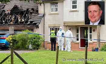 Tory councillor, 52, is targeted in firebomb attack for the THIRD time