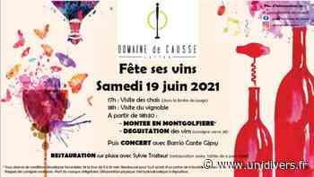 Domaine de Causse fête ses vins !!! Domaine de Causse - Unidivers