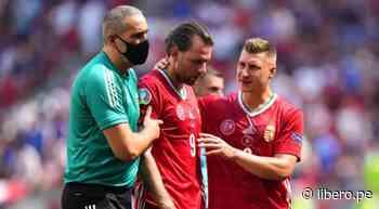 Capitán de Hungría tuvo que retirarse de la cancha por fuertes dolores de cabeza - Libero.pe