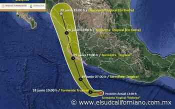 Tormenta tropical Dolores no representa riesgo para BCS - El Sudcaliforniano
