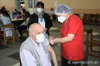 Aplicarán segunda dosis de Sputnik V en Formosa Capital y se acentúa la vacunación en el interior - Agenfor