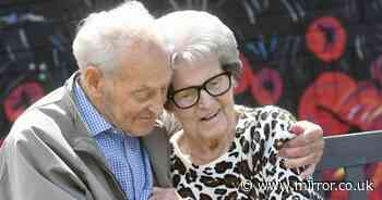 Twins, 92, reunited a year after Covid lockdown separated them for first time