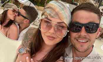 TOWIE's Shelby Tribble packs on the PDA with boyfriend Sam Mucklow in Mallorca