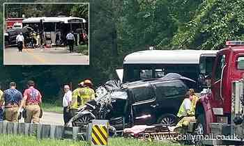 Bus collision on South Carolina road leaves at least one dead amid reports of 34 people injured