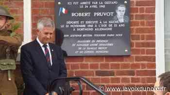 Grand-Fort-Philippe: un hommage très émouvant à Robert Pruvot - La Voix du Nord