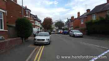 Fix the pavements if you want people to walk in Hereford