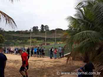Guarda Civil de Capivari e Fiscalização de Posturas encerram partidas de futebeol com cerca de 130 pessoas - SeuJornal