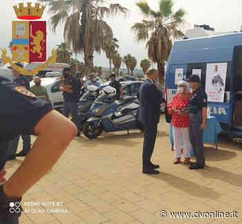 Nuovamente a Civitavecchia il ''Camper rosa'' della Polizia di Stato - Civonline