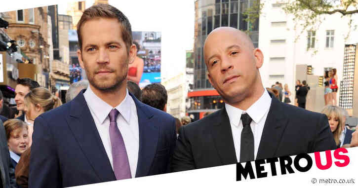 Vin Diesel pays tribute to Paul Walker as he hits up F9 premiere