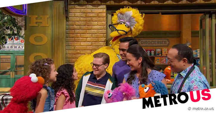 Sesame Street features two gay dads in 'milestone' episode for Pride month
