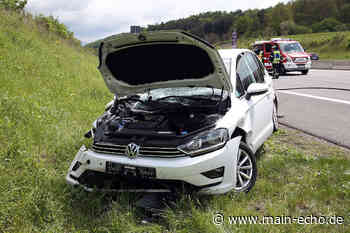 Kontrolle über VW verloren: Unfall auf A3 bei Waldaschaff – Golf-Fahrerin schwer verletzt - Main-Echo