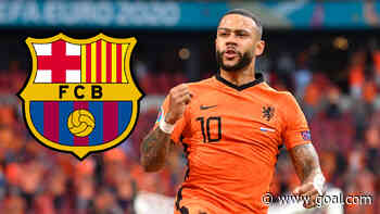 Barcelona complete Depay signing as a free agent on two-year contract