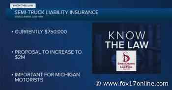 Know the Law – Semi-Truck Liability Insurance - Fox17 - Fox17