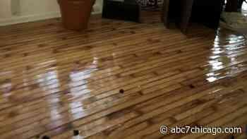 Glen Ellyn homeowners battle Allstate insurance company over $300K water damage claim - WLS-TV