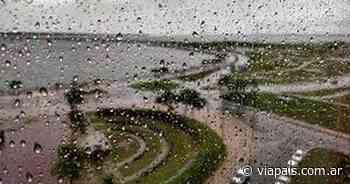 Sábado de precipitaciones y descenso de temperatura en la provincia - Vía País