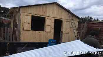 Incendio de una vivienda en Posadas: reconstruyen la casa para que la familia pueda habitarla - Misiones OnLine