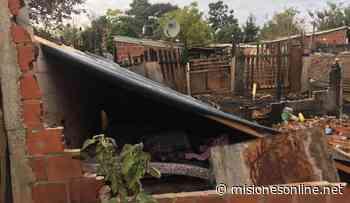 Incendio de una vivienda en Posadas: los menores se encuentran bajo la custodia de su padre - Misiones OnLine