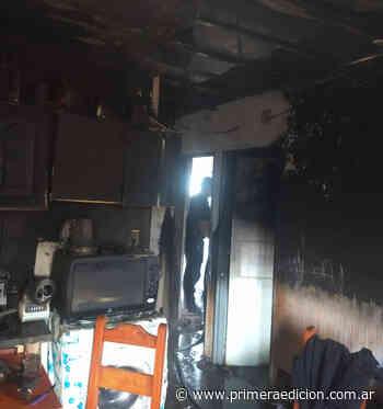 La explosión de un televisor provocó un incendio en Posadas - Primera Edicion