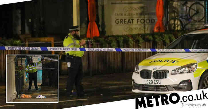 'Football fan', 27, arrested after falling from fourth floor of London hotel