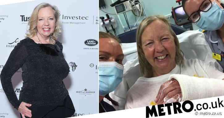 Dragons' Den star Deborah Meaden reveals horse riding accident led to hospital visit