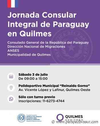 Realizarán una Jornada Consular Integral de Paraguay en Quilmes - Perspectiva Sur
