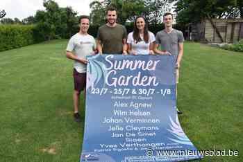 Sterke affiche voor tweede Summer Garden