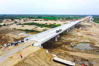 Ministro González participó en la puesta en servicio del rehabilitado puente Reque - El Peruano