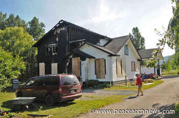Family homeless after fire rips through Chilliwack house – Peace Arch News - Peace Arch News