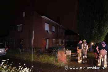 Rookschade na kortsluiting in berging (Beveren-Waas) - Het Nieuwsblad