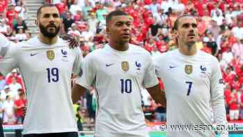 France's brilliant attack is a worrying work in progress