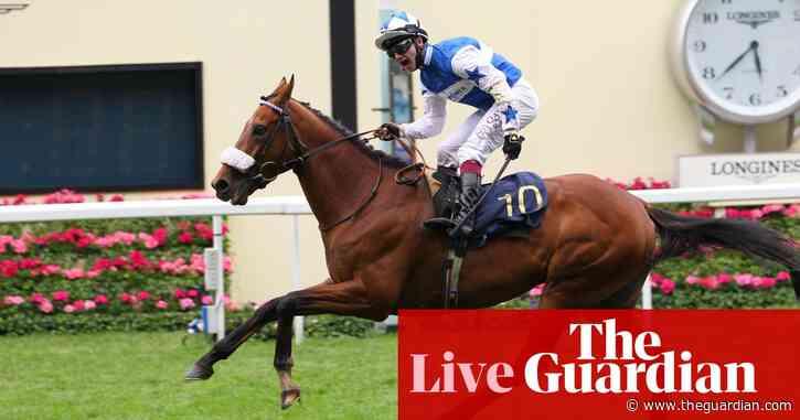 Royal Ascot: Dream of Dreams wins Diamond Jubilee Stakes as Oisin Murphy takes top jockey – as it happened