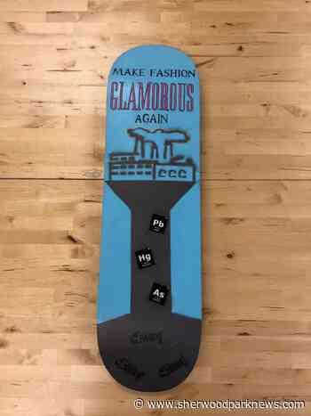 Students use skateboards to raise awareness - Sherwood Park News