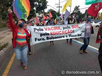 Lideranças fazem ato em Volta Redonda contra Bolsonaro - Diario do Vale