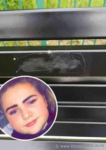 Mum's heartbreak after memorial bench to Courtney Ellis damaged - St Helens Star