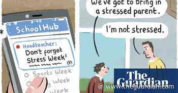 Stephen Collins on school theme weeks – cartoon