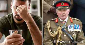 Army's 'chronic' alcohol problem laid bare as 8,000 sought help in last 6 years