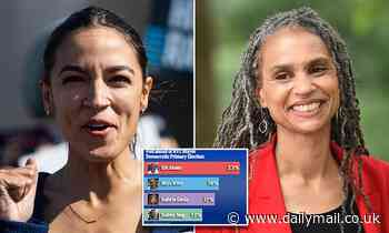 AOC-backed liberal Maya Wiley surges into second place in some polls for NYC mayor's race