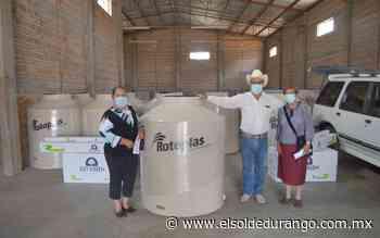 Son beneficiadas 50 familias con boiler solares y tinacos en Panuco de Coronado - El Sol de Durango