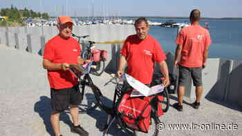 Radfahren in der Lausitz: Das sind die Aufgaben der Seenlandwacht - Lausitzer Rundschau
