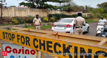 Coronavirus curfew in Goa extended till June 28 - Economic Times