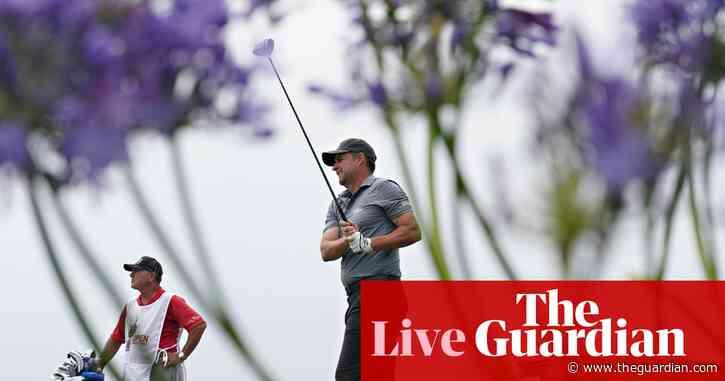 US Open golf 2021: third round – live!