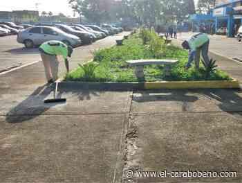 Cuadrillas de limpieza realizaron el saneamiento externo en hospitales de Bejuma y Miranda - El Carabobeño