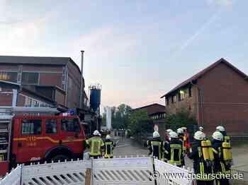Schwelbrand bei Firma Buchholz in Vienenburg - Goslar - Goslarsche Zeitung