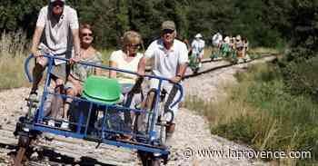 Pays d'Arles : un train à pédales pour les grands - La Provence