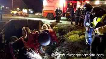 Volcó y cayó a un arroyo en San Martín de los Andes - Mejor Informado