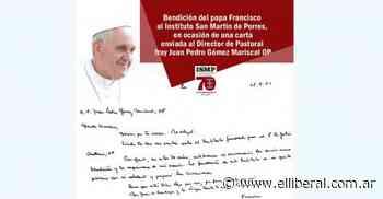 El Papa envió bendiciones al Instituto de Estudios Sup. San Martín de Porres - El Liberal Digital